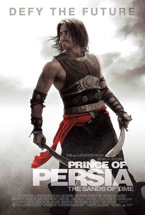 Jake Gyllenhaal from the prince of persia poster