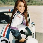 Maggie Gets Ready To Race Herbie