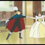 Haru as a neko dancing with the Baron