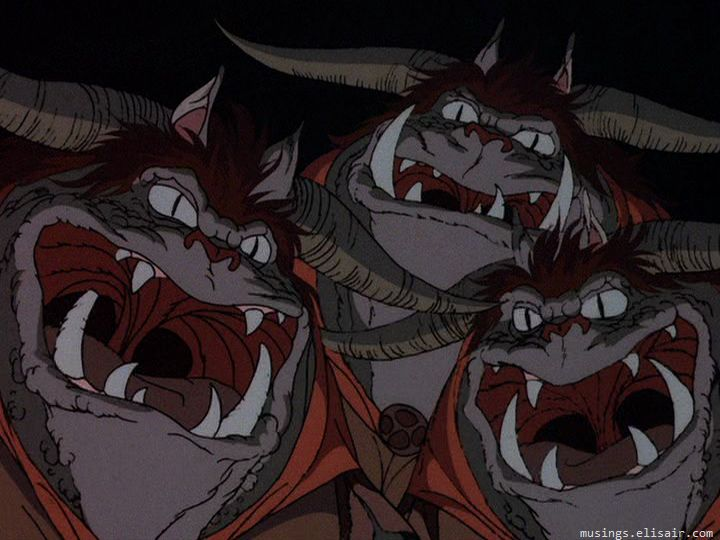 Lord Of The Rings Animated Goblins