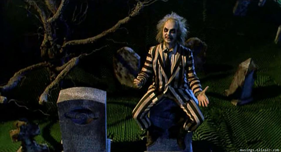 Beetlejuice The Name In Laughter From The Hereafter