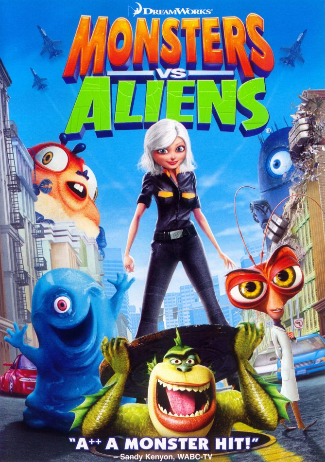 monsters vs aliens the weird will save the world