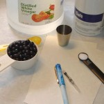 Image showing the ingredients used in making the ink