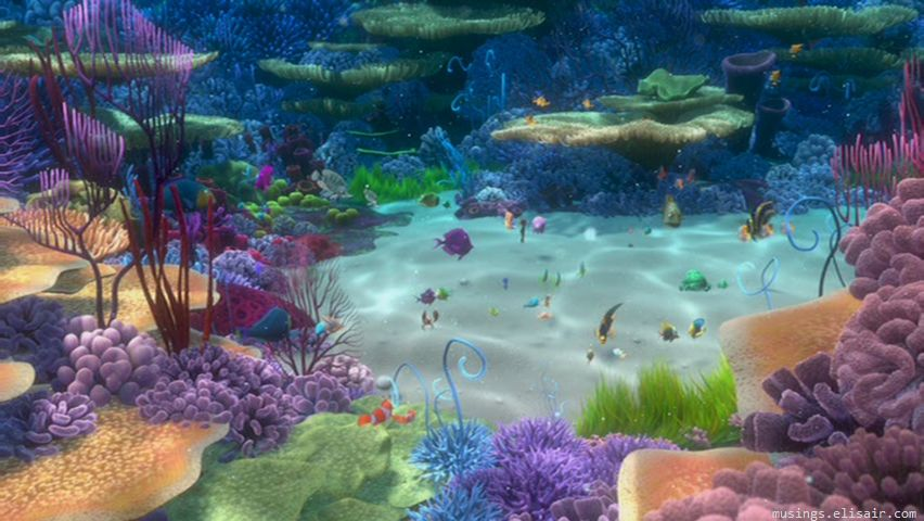 finding nemo coral reef - photo #15