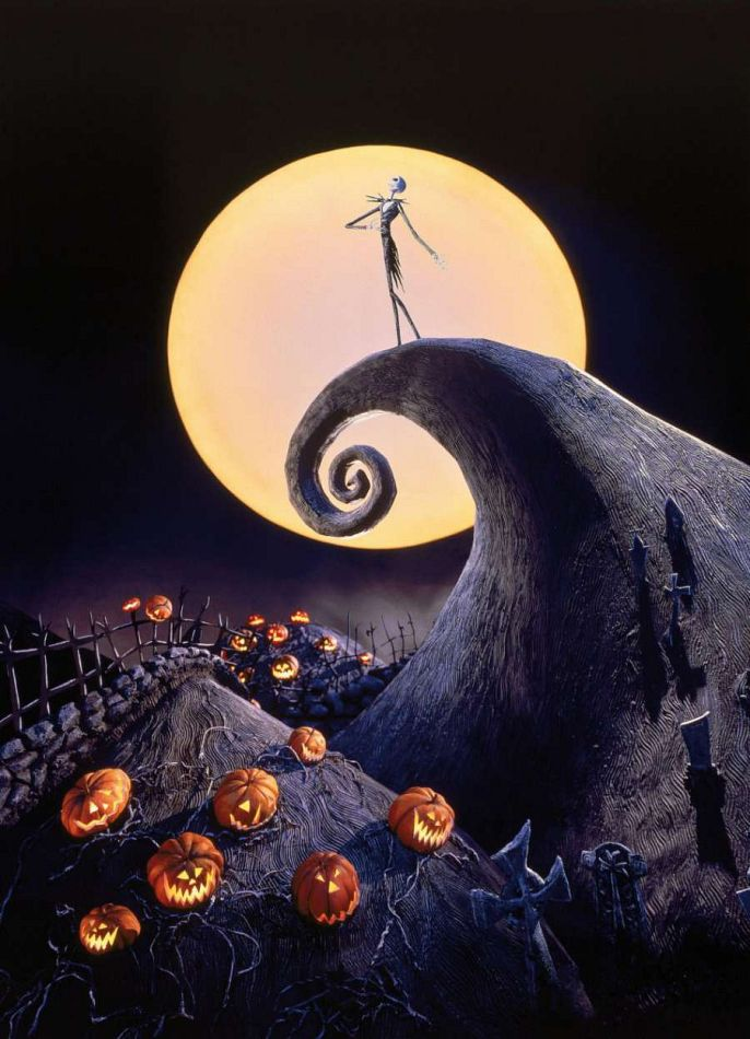 Nightmare Before Christmas Wallpaper Zero