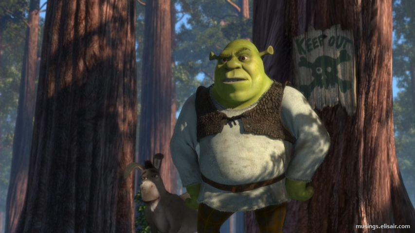 Shrek : The greatest fairy tale never told. – Musings From Us