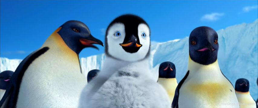 Happy Dance >> Happy Feet (2006) May Cause Toe-Tapping | Musings From Us