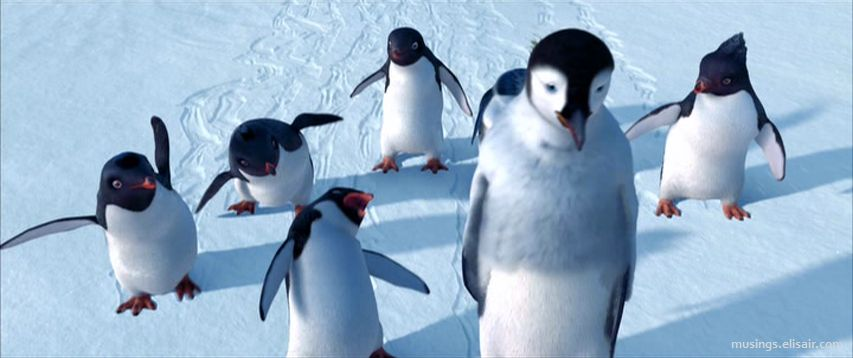 Happy Feet 2006 May Cause Toe Tapping Musings From Us