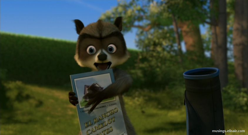 Over The Hedge Get Over It Musings From Us