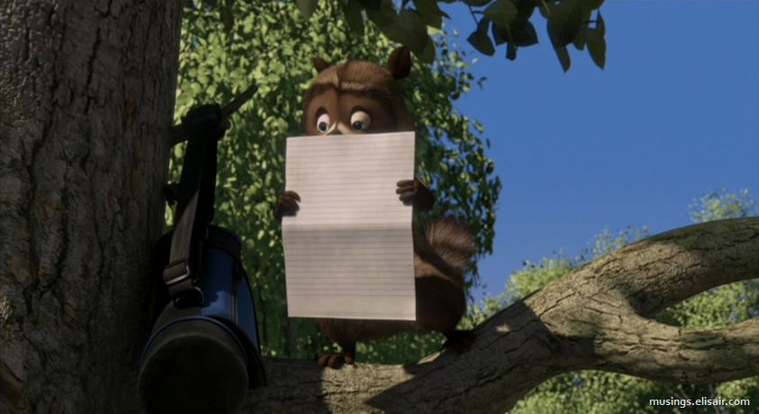 Over The Hedge : Get Over It. – Musings From Us