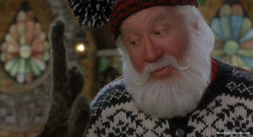 The Santa Clause 2 The Misses Clause Musings From Us