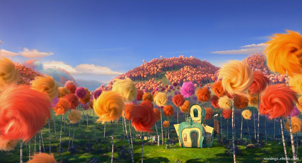 Image Result For The Lorax Trees