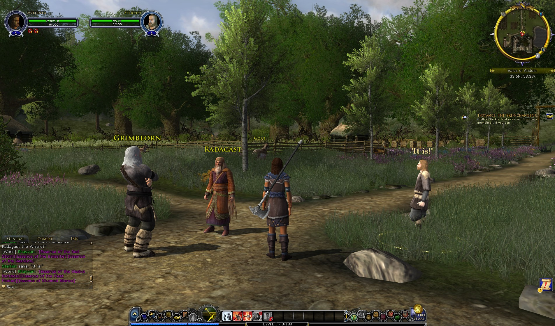 Lord Of The Rings Online Gondor Aflame Beorning Class