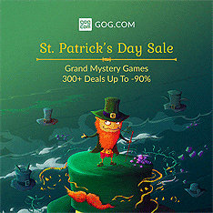 St Patrick's Day Sale is here with 300+ deals and mystery games hidden in Leprechaun Hats! Join the green celebration and check out new games we prepared for you.